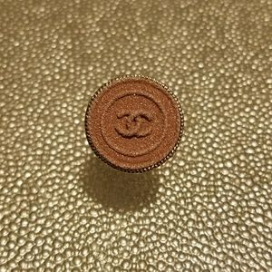 Authentic pink chanel button